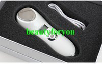 Wholesale Realtop Face Beauty Spa Deep Cleansing Ance Treatment Sonic Vibrating Hot Cold Facial Massager Hot and Cold Facial Hammer