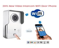 Wholesale WIFI Wireless Doorbell Video Intercom Security Camera LCD Video Door Phone for Android IOS System Mobile Phone Tablet PC