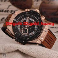 Wholesale 2016 NEW luxury Men Watch quartz chronograph glass high qality Luxury quartz Fashion Rubber watchband Men s Watches