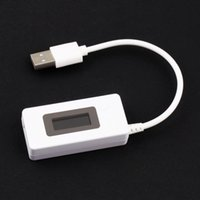 Wholesale 1Pc USB Voltage Current LED Charger Tester Capacity lcd usb battery Detector Power Supply Bank LCD Drop Shipping