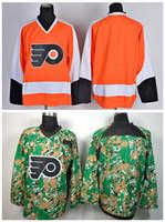 best flyer - Cheap Ice Hockey Philadelphia Flyers Blank Jerseys Sports Home Orange Team Alternate Camo Fashion All Stitched Best Quality