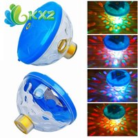 Wholesale LED Underwater Fountain Light Waterproof Disco AquaGlow Swimming Pool Pond Fish Tank Aquarium LED Light Lamp