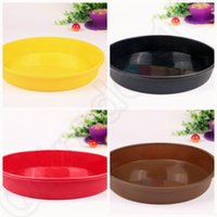 Wholesale 80PCS MMA37 Round Silicone Pizza Pan for Baking Wedding Cake Pizza Pie Bread Loaf for Microwave Oven
