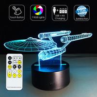 aa retail - 2016 NCC Enterprise Decor Light D Optical Light RGB Lights Dimmable DC V AA Battery IR Remote Control Retail Box