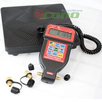 automatic weighing - R22 R12 R404A R134A HVAC A C Programmable LBS Charging Automatic shutt off Refrigerant Digital Scale