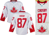 Cheap 2016 World Cup Red White Men ALL Players True Tag #87 CROSBY #16 TOEWS #31 PRICE Hockey Olympic Canada Jerseys Home Away Nice Stitched Wear