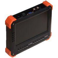 analog input - 7 inch TVI AHD camera tester CCTV tester monitor analog HD TVI2 AHD2 P camera testing VGA HDMI input V2A ouput