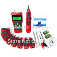 Wholesale Multipurpose Digital Ethernet LAN Phone Cable Tracker USB Coaxial Network Cable Tester with Far end Jacks