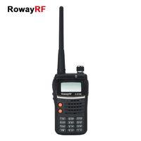 uhf radio portable - RowayRF Long Range Walkie Talkie Two Way Radio Crossband Reception Transmission Portable Civilian Handheld LED Radio Walkie Talkie