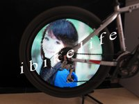 bicycle patents - New patent Waterproof Programmable inch bicycle wheel light can display DIY design videos images by yourself