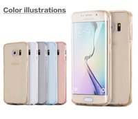Wholesale For Samsung A5 Shockproof Silicone Protective Clear Case Cover For Samsung A3 Phones With