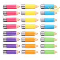 Wholesale Fantastic Crayons Funky Unisex Pencil Shaped Solid Moisturizer stick Lip Balm High Quality