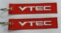 acura keychains - Honda Acura VTEC Embroidered Keychains Straps x cm