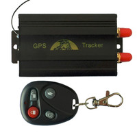 Wholesale TK103B GPS Tracker Real Time GSM GPRS Manual Quad band SD card PC web based Tracking Device locator with Remote Control