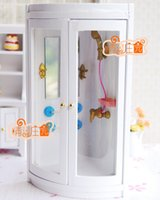 baby child furniture - G05 X4314 children baby gift Toy Dollhouse mini Furniture Miniature rement wooden Bathroom shower room
