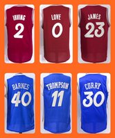 anti love - Men s Kyrie Irving Kevin Love LeBron James Harrison Barnes Klay Thompson Stephen Curry Christmas Edition jerseys