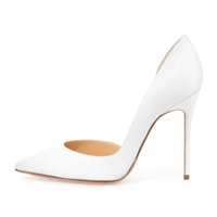 accessories for women shoes - New White In Stock Wedding Dress Shoes CM High heels Pointed Toes Lady Office Cheap Bridal Best Party Shoes for Women Accessories