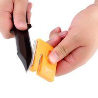 Wholesale TAIDEA Mini Portable Knife Hook Diamond Knife Sharpener Outdoor Sharpening Tool ZJ026