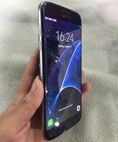 al por mayor mini teléfono sim-Caja sellada S7 borde Curvado pantalla Teléfono 5.5inch 1GB + 4GB Metal Frame MTK6580 Andriod 6.0 3G WCDMA