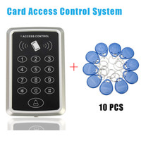 Wholesale High Quality rfid tag RFID Proximity Card Access Control System RFID EM Keypad Card Access Control Door Opener