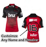 Wholesale 2016 Canterbury Crusaders home jersey Rugby jersey NRL jersey