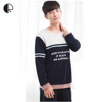 Wholesale New Autumn Men s Casual Pajamas sets Fashion Long Sleeve Men Home Wear Cotton Lounge Set Sleepwear AP325