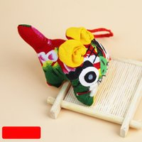 Wholesale Tiger cloth tiger pure handmade cloth tiger folk crafts Decoration A symbol of people Wang Wang Wang Yun Wang