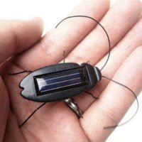 Wholesale Cute solar energy cockroach can snake on the sunlight solar powered new year ornaments good gifts for kids and student