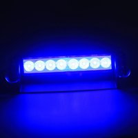Wholesale Car Vechicle Led Emergency Strobe Flash Warning Light V Led Flashing Lights Red Blue White Green