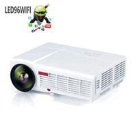 arrival video projector - New Arrival LED96 Android WIFI Video HDMI USB x800 Full HD P Home Theater LED projector Projetor