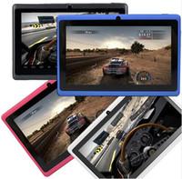 android stylus app - 7 quot Tablet Allwinner A33 Quad Core Android Tablet GB WIFI de Doble Cámara de Google APP Juego Teclado de Colores