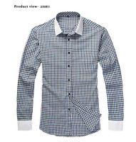venda por atacado clothing made in china-tamanhos americanos de alta qualidade uniforme homens verificação camisa negócios para roupas preço barato masculina made in china