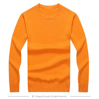 Wholesale new high quality pullover men men sweaters Brand sweater Slim Jumpers pullover jerseys men O Neck size S XXL