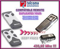 best garage door - Best price pieces TELCOMA transmitter SLIM2 SLIM4 MHZ remote control replacement garage door opener