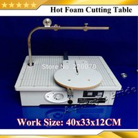 Wholesale Free Shiping V Board WAX Cutting Machine Working Stand Table Tool Styrofoam Cutter CUTS FOAM KT