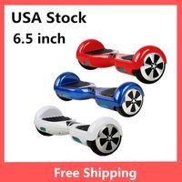 mini skateboard - USA Stock Fast shipping quot Mini Self Balance Wheel Hoverboard Smart Scooter Electric Balancing Scooters Skateboard no Bluetooth Two Wheel