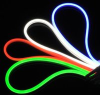 Wholesale SMD2835 LEDS M MM W M Mini Style LED Flex Neon Rope Light Waterproof V Epistar neon flexible strip light with CE ROHS