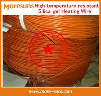 Wholesale Fast Free Ship m roll High temperature resistant silicone heating wire electric blanket cable electric heater wire