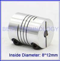 Wholesale Diameter mm Length mm mm to mm Flexible Shaft Coupling Clamp CNC Starter Shaft Coupler Connector