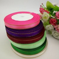Wholesale 6 colors quot width satin ribbon sewing accessories gift packing ribbon DIY crafts reels R001