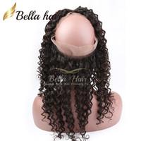 al por mayor alta calidad del pelo humano sin procesar-Brazalete lleno del pelo brasileño 360