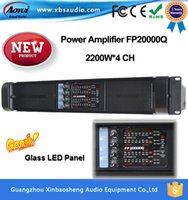 Wholesale 2016 the latest amplifier High Power Subwoofer Sound System fp20000Q power amplifier W CH with