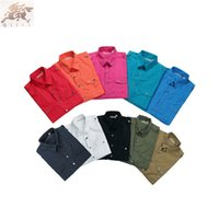 Wholesale The new men s cotton shirts fine fabrics casual fashion
