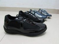 american designer shoes - 2016 Designer Italian Fashion Mens Casual Shoes Cheap Patent Leather With Mesh American Cup Comfortable Shoes For Men size