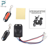 Wholesale 9 V Motorcycle Alarm System Anti theft Security Alarm System Remote Control Engine Start
