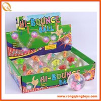 Wholesale HI BOUNCE BALL TOYS FOR KIDS GIFT COLOURFUL
