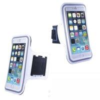 Sports impermeável executando braçadeira caso Workout Armband Titular pounch Para iphone6 4,7 polegadas celular Arm Mobile Phone Bag faixa de braço