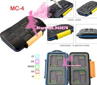Wholesale 30pcs Waterproof Extremely tough Memory Card Case MC for CF XD Micro SD Cards