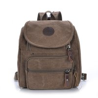 Wholesale Fashion Canvas Women Backpack School Bag Small Student Bag Female Shoulder Bag Small Women Backpack