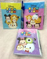 best travel notebooks - New Mixed TSUM Notebook With Ballpoint pen Cartoon Stationery For Best Gifts